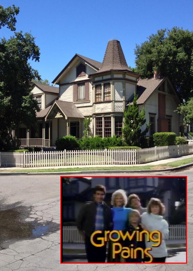 Warner Bros Studios tour Growing Pains house