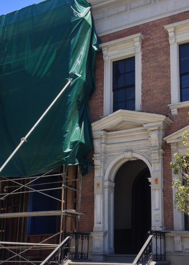 Warner Bros backlot construction