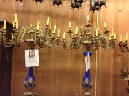 Warner Bros Studios tour lamps