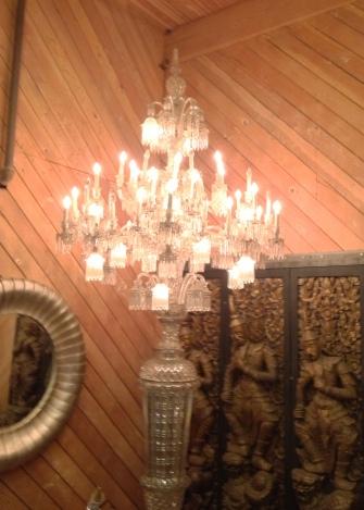 Warner Bros Studio tour lamp