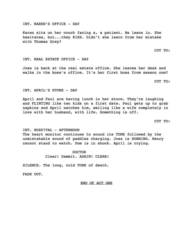 Mistresses Season 2 Script