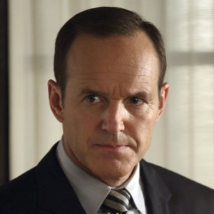 SHIELD Agent Phil Coulson played by Clark Gregg.
