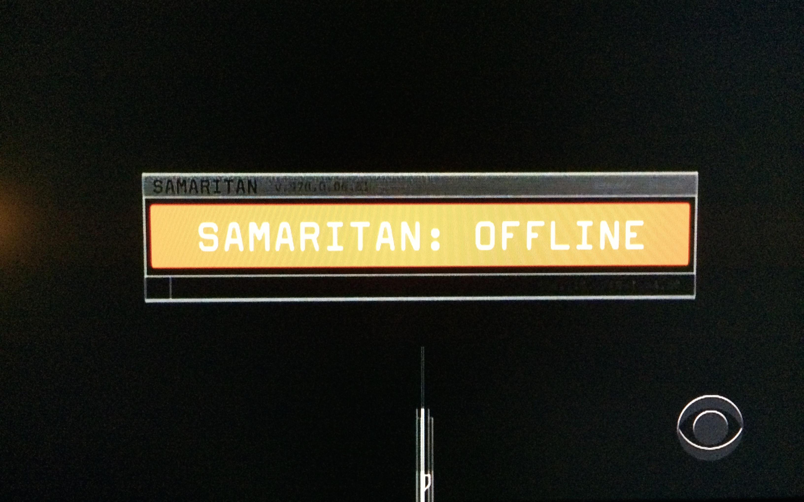 samaritan vs machine
