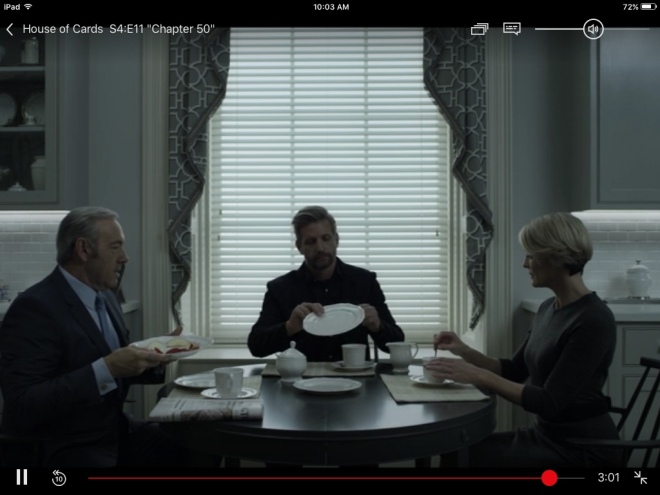 Netflix House of Cards Season 4 Screenshot